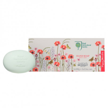 RHS Poppy Meadow – Soap Collection